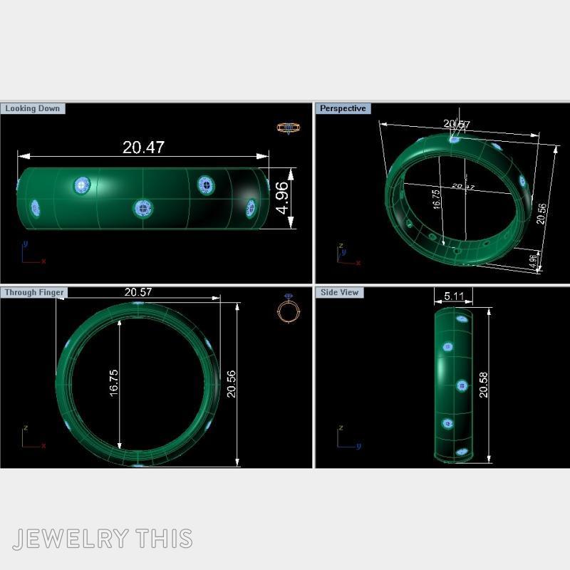 Men's Ring, Rings, Men's, image 5