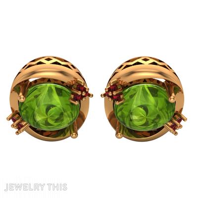 Stud (Post) Earring, Earrings, Stud (Post)