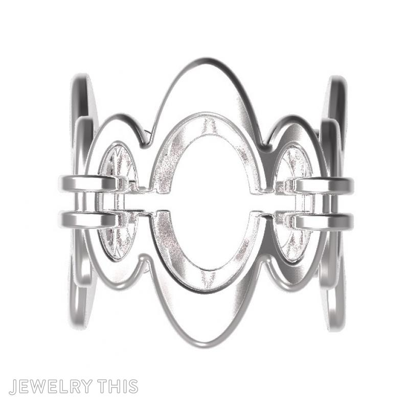 Ring Sh-W-0003, Rings, Concave, image 2