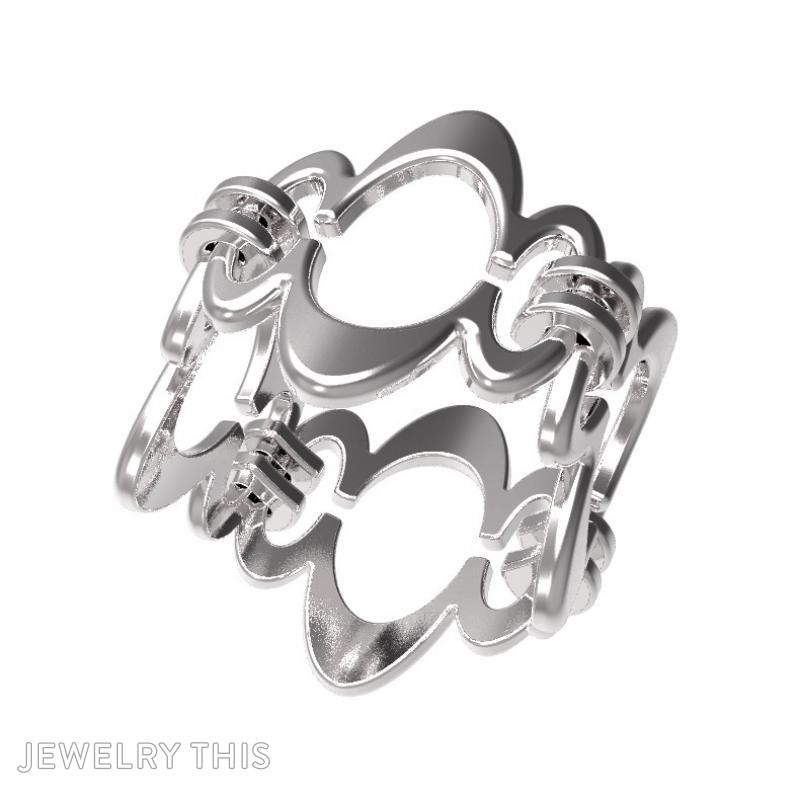 Ring Sh-W-0003, Rings, Concave, image 3