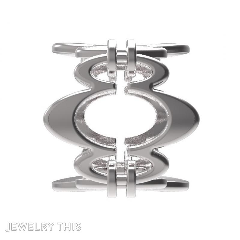 Ring Sh-W-0003, Rings, Concave, image 4