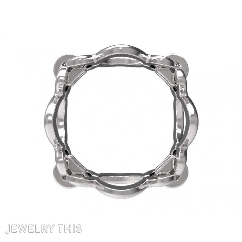 Ring Sh-W-0003, Rings, Concave, image 5