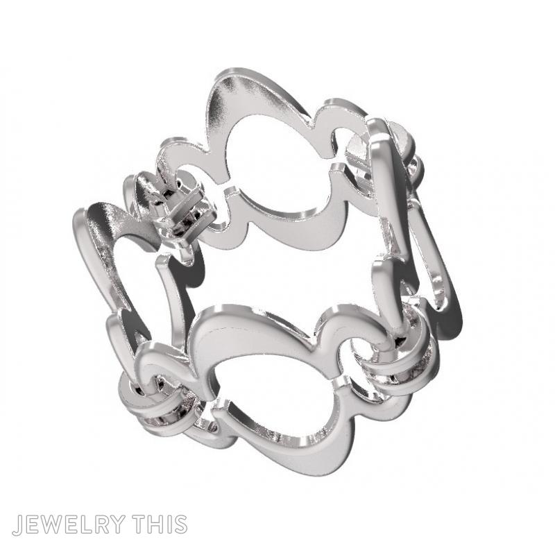 Ring Sh-W-0003, Rings, Concave, image 6