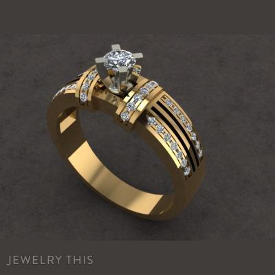 Обручальное Кольцо, Rings, Engagement