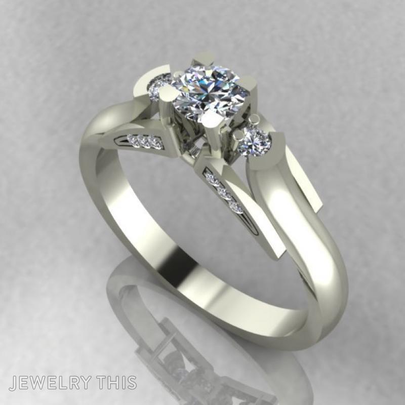 Модное Кольцо, Rings, Fashion, image 2