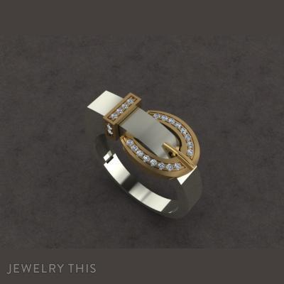 Модное Кольцо, Rings, Fashion
