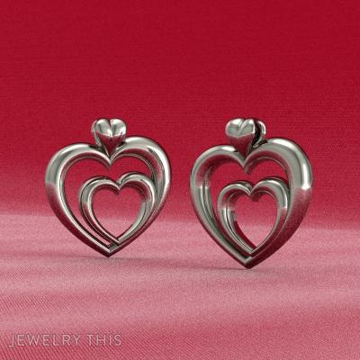 Double Heart Pendant, Pendants, General