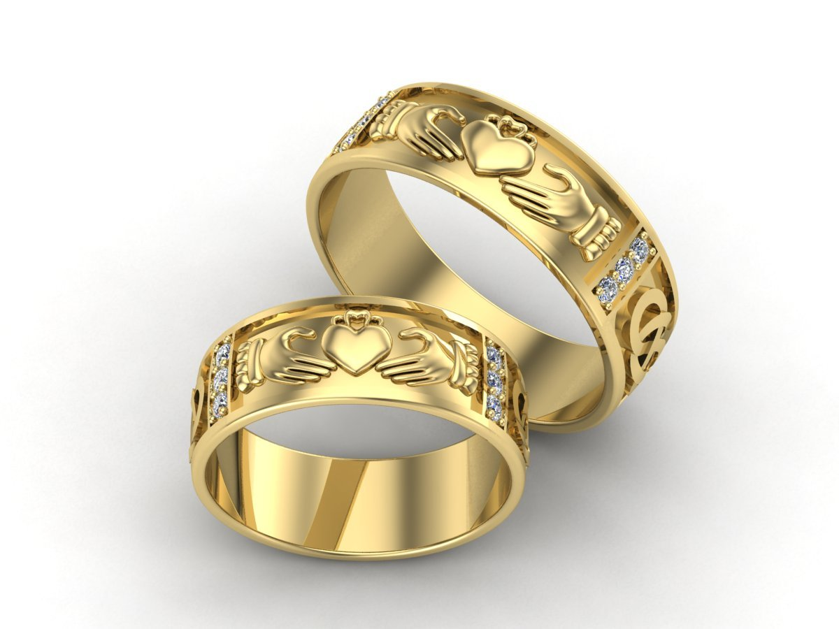 Home Design App Free Gems 3d Jewelry Design Claddagh Wedding Ring 187 Jewelrythis