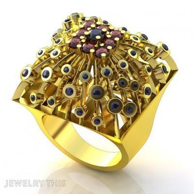 Illussion Ring, Rings, Fashion