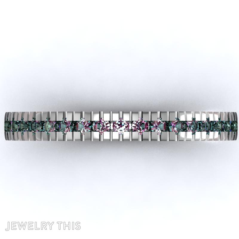 Eternity Band Ring, Rings, Eternity Band, image 2