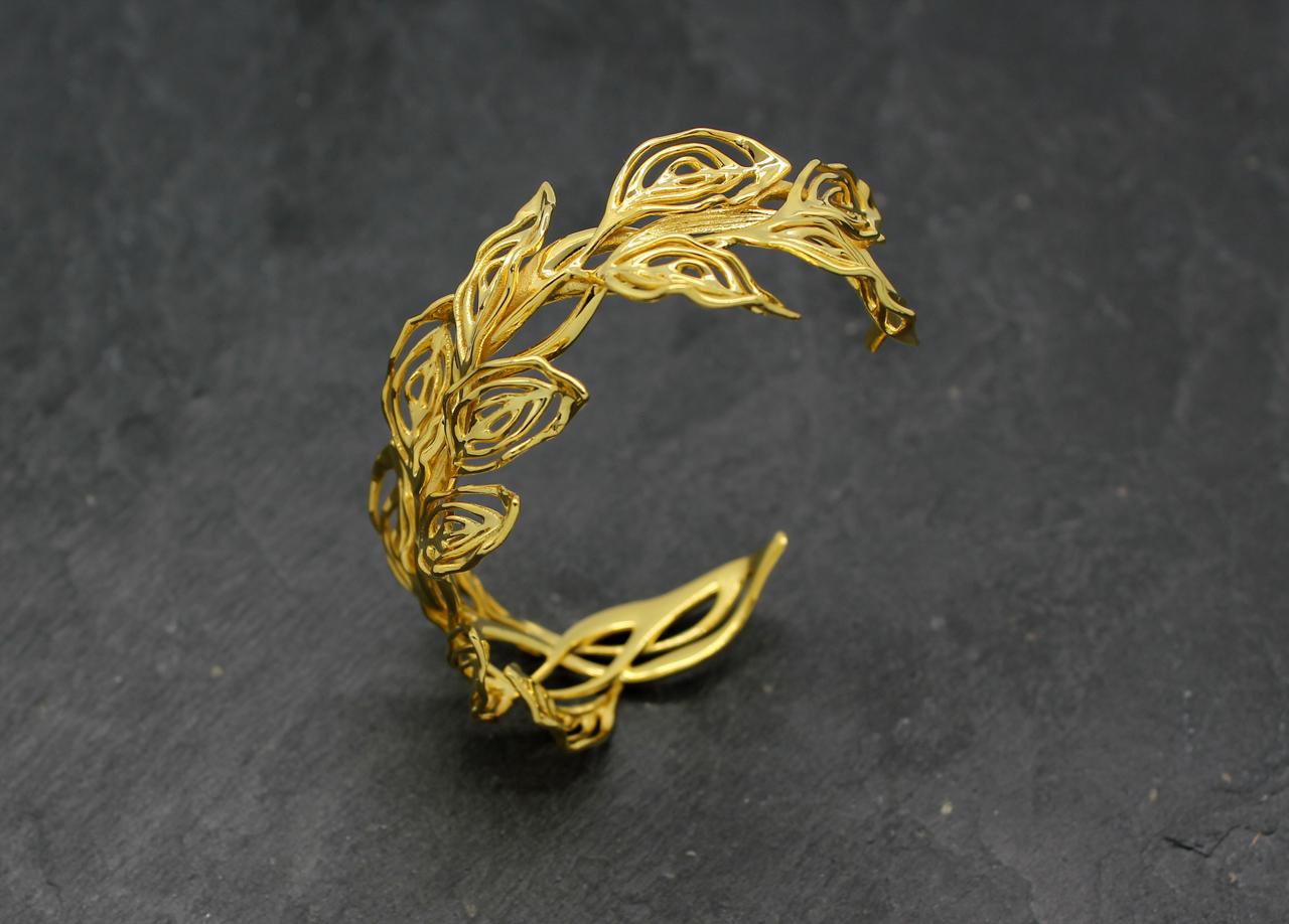 3d Jewelry Design Gilt Laurel 187 Jewelrythis Jewelry