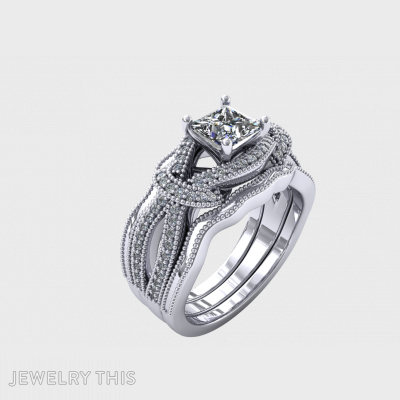 Double Band Ring, Rings, Crossover