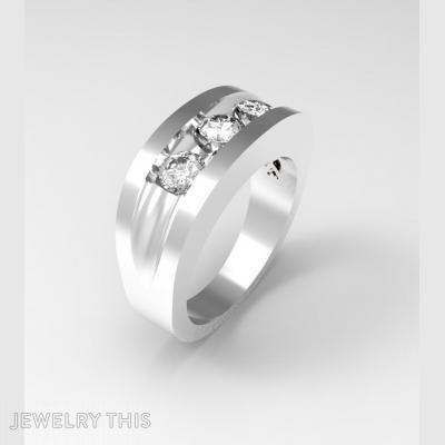 Rnig 3 Diamond, Rings, Fashion