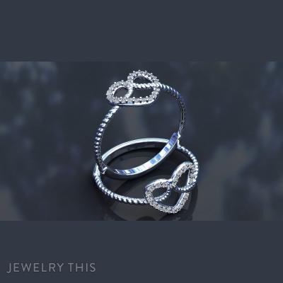 Heart, Rings, Fashion