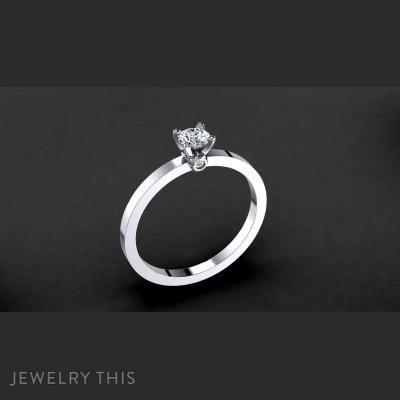 Engagement Ring Model 005, Rings, Engagement