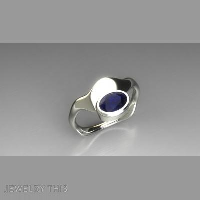 Absrtact Oval, Rings, Fashion