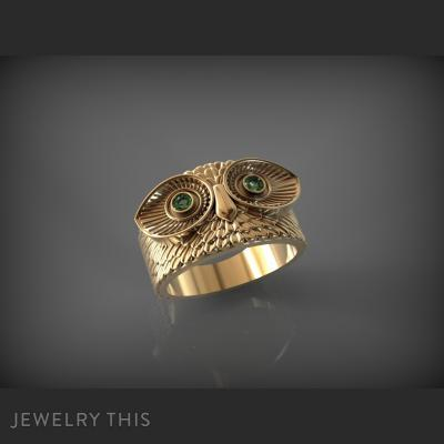 Owl Ring, Rings, Fashion