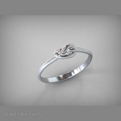 Ring Knot, Rings, Wedding