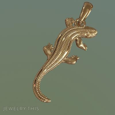 Lizard, Necklaces