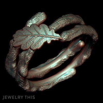 Branch Ring, Rings, Fashion