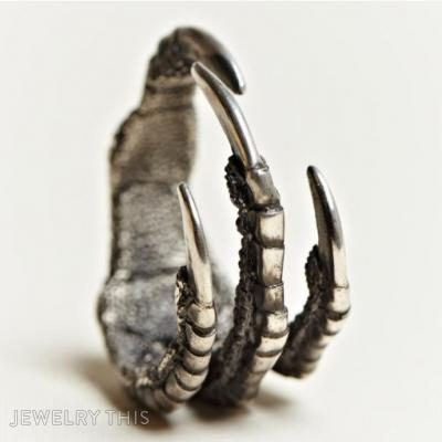 Claw Ring, Rings, Men's