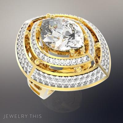 Ring Glamour, Rings, Fashion