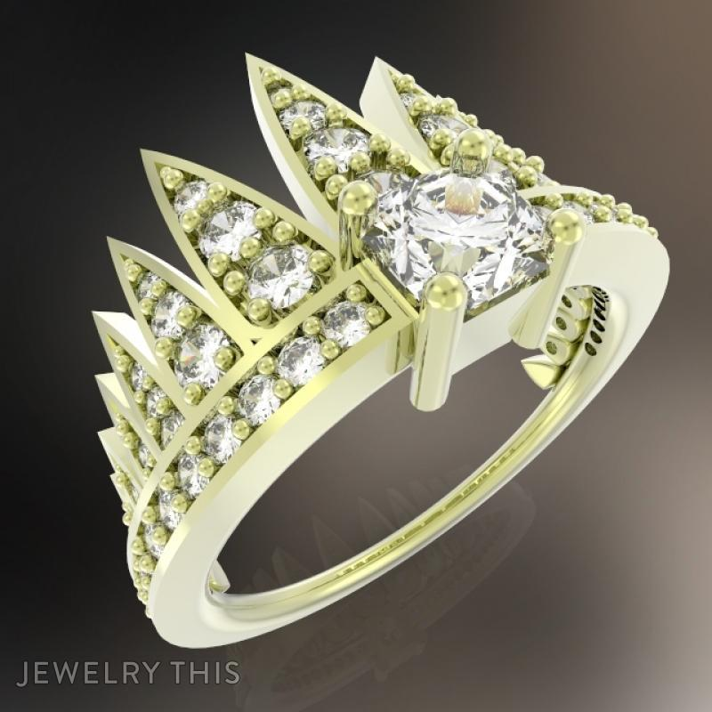3d Jewelry Design Ring Comet Simple Jewelrythis Jewelry