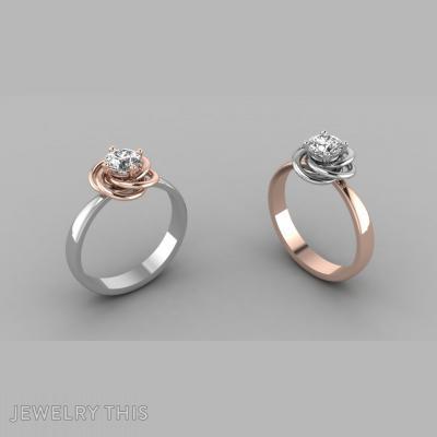 Ring Rose, Rings, Engagement