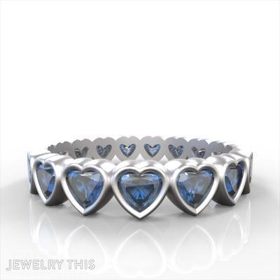 Eternal Love – Hearts, Rings, Eternity Band