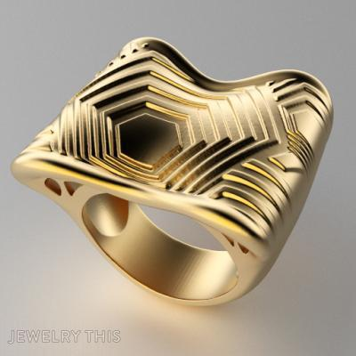 Psychedelia, Rings, Fashion