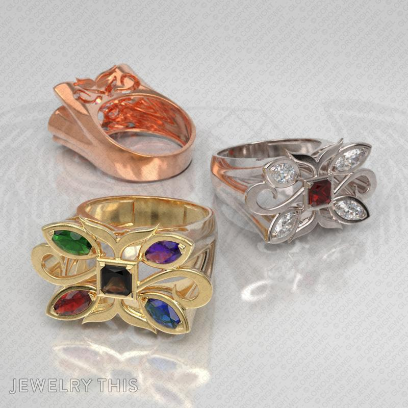 Cocktail Ring, Rings, Cocktail, image 7