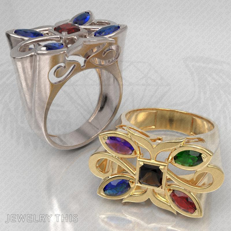 Cocktail Ring, Rings, Cocktail, image 8