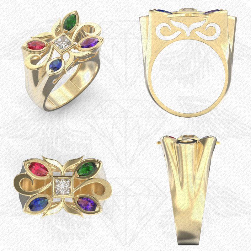 Cocktail Ring, Rings, Cocktail, image 9