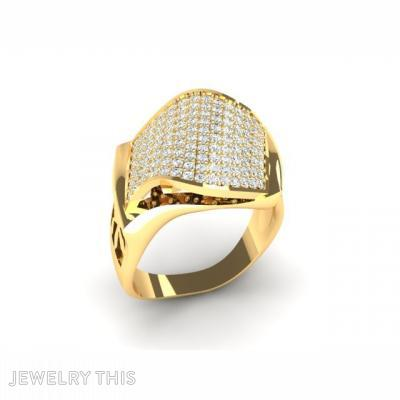 Fashion Ring, Modern Style, Rings, Cocktail