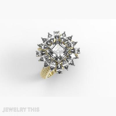Ring Emerald Pear, Rings, Fashion
