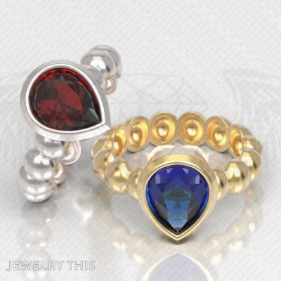 4 Ringsizes 3D Stl File – Ring, Rings, Engagement