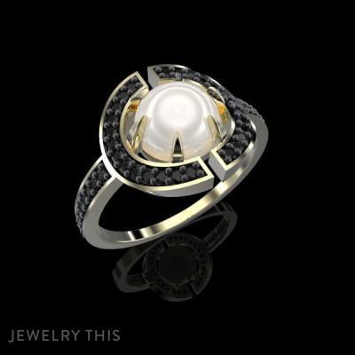 Ring Vihad Pearls, Rings, Fashion