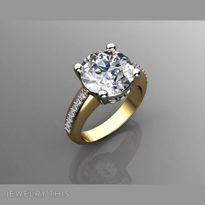 5 Carat Diamond Engagement Rin, Rings, Fashion