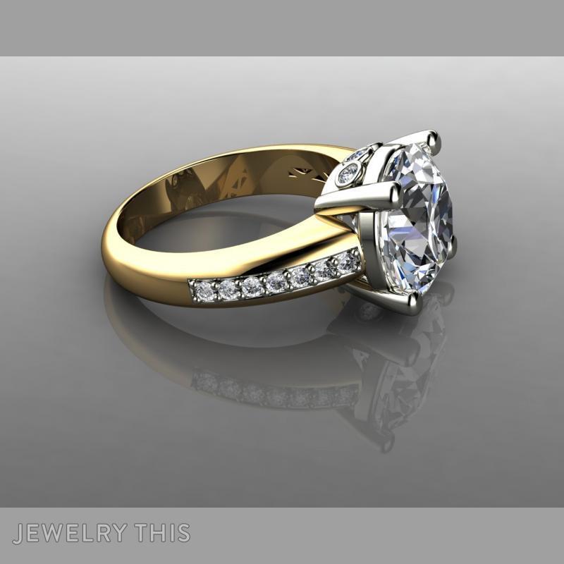 5 Carat Diamond Engagement Rin, Rings, Fashion, image 5