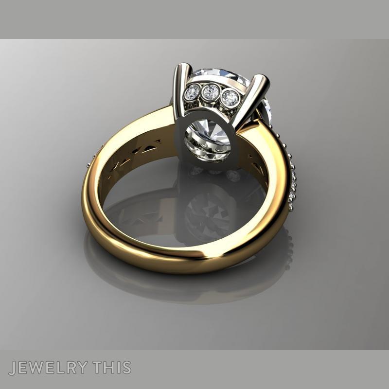 5 Carat Diamond Engagement Rin, Rings, Fashion, image 6