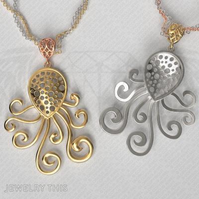 Octopus Pendant, Pendants, General