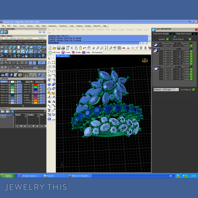 3d Jewelry Design Software - Famous Jewelry Designers