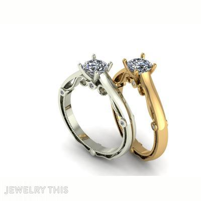Antique Engagement Ring, Rings, Engagement