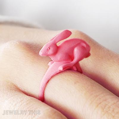 Running Rabbit Ring,, Rings, Fashion