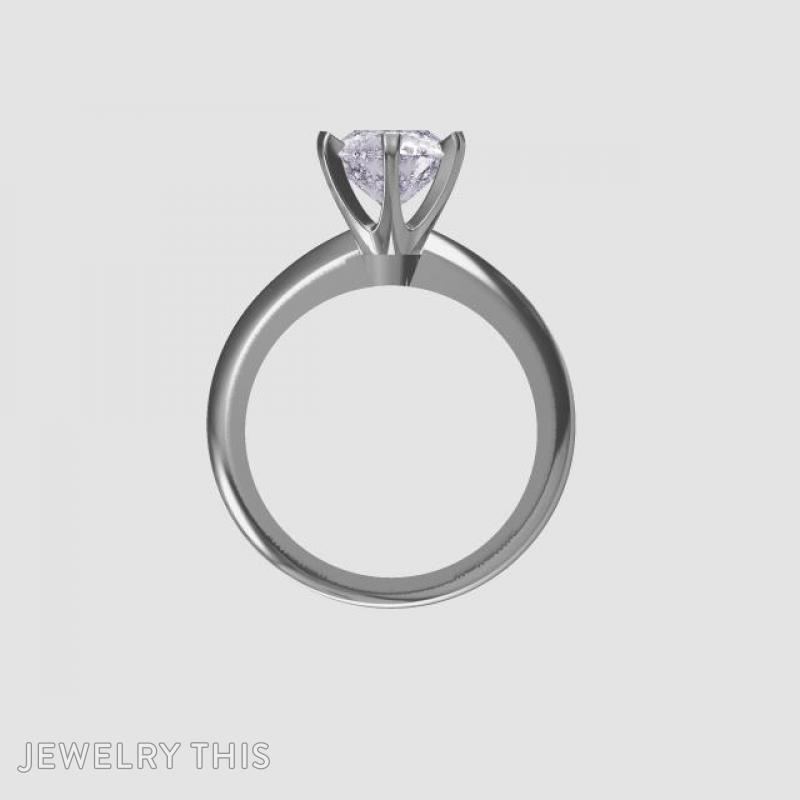 Solitaire Engagement Ring, Rings, Engagement, image 3