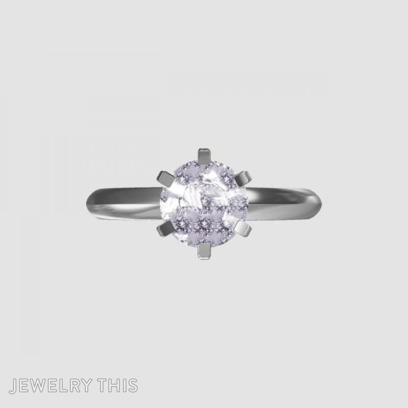 Solitaire Engagement Ring, Rings, Engagement, image 4