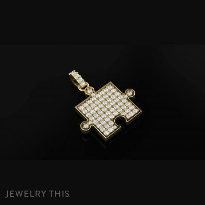 Jigsaw Pendant, Pendants, General