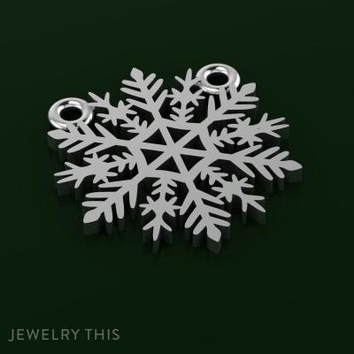 Christmas Snowflake Pendant, Pendants, General