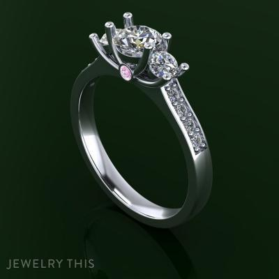 Three Stone Classic, Rings, Mother's