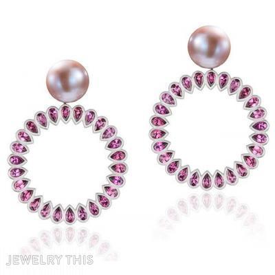 Love Ring, Earrings, Chandelier (Dangle)
